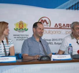 """Панагюрище ще е домакин на първия международен турнир по тенис на маса """"Асарел България оупън"""""""