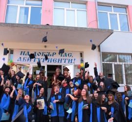 Зрелостниците на Професионалната гимназия по индустриални технологии, мениджмънт и туризъм получиха своите дипломи