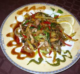 Пиле по азиатски
