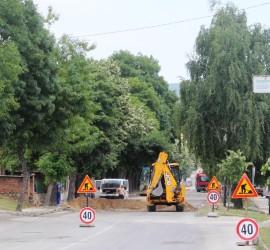 """Спиране на водоподаването и ограничения за движението по булевард """"Пятигорск"""""""
