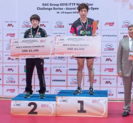 """Приключи международният шампионат по тенис на маса """"ASAREL Bulgaria Open"""""""