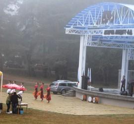 Лошо време на празника на Панагюрски колонии