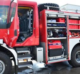 Пожар с материални щети в Панагюрище