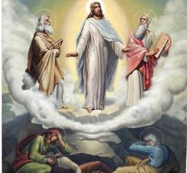 Преображение Господне е. Според вярванията на този ден се отваря небето