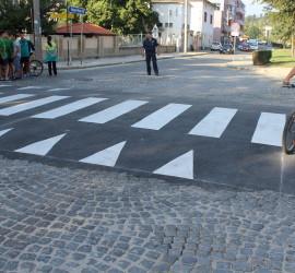 С временно спиране на движението по някои централни улици в Панагюрище ще приключи Седмицата на мобилността
