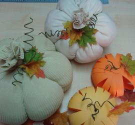Да си направим сами есенна украса за дома