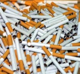 Иззеха саморъчно направени цигари