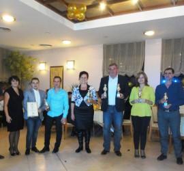 """Сдружението на предприемачите-Панагюрище връчи традиционните си награди """"Златен ритон"""""""