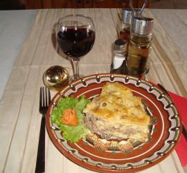 Мусака с макарони и кайма