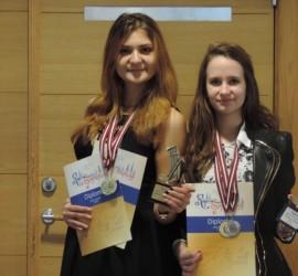 Златни медали от международен фестивал за Габриела Шкодрева и Виктория Манева