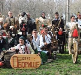 Отличиха мечани за автентичното представяне на маскарадните традиции