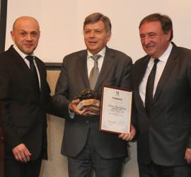 """Асарел-Медет"" АД получи голямата награда ""Инвеститор на годината"" за 2015 г."