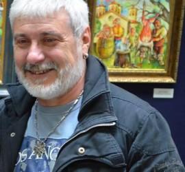 Стайо Гарноев подреди живописна изложба в Пазарджик