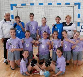 12-годишните хандбалистки са пети в България
