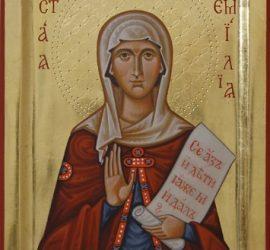 Православната църква почита Света Емилия