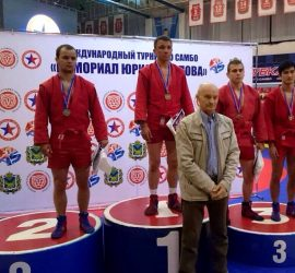 Изключителен успех за Иван Хърков от Световната купа по самбо във Владивосток