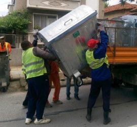 Ще бъдат доставени нови контейнери за отпадъци