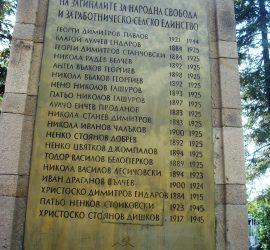 В Бъта ще отдадат почит към паметта на убитите в м. Цареви сливи през 1925 г.