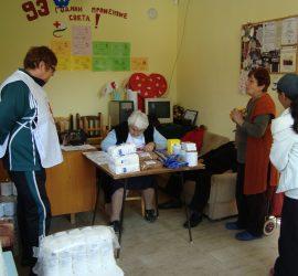 От 12 септември БЧК- Панагюрище започва раздаването на втория транш от хранителните помощи на ЕС. 713 жители на общината  са бенефициенти на Програмата