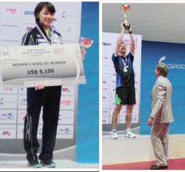 Томас Конечни от Чехия и Юка Ишигаки от Япония са шампионите при мъже и жени от финала на  2016 ITTF ASAREL BULGARIA OPEN