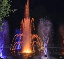 """Още броени пъти фонтаните край """"Арена Асарел"""" ни радват за тази година"""