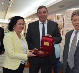 """Министърът на околната среда и водите Ивелина  Василева посети """"Асарел-Медет"""" АД"""