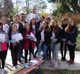 """Акция """"Спортът срещу дрогата"""" проведе днес БМЧК – Панагюрище"""