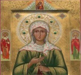 Почитаме паметта на Света Параскева от Икония