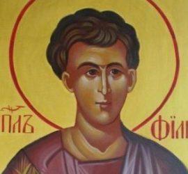 Днес почитаме Свети Апостол Филип. Започват Коледните пости