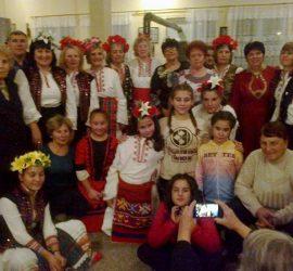 """ВГ""""Китка"""" гостува на  ЖД  """"Горана"""" с.Попинци в Деня  на  християнското  семейство"""