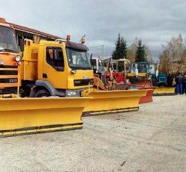 142 снегопочистващи машини ще поддържат пътната мрежа на територията на област Пазарджик