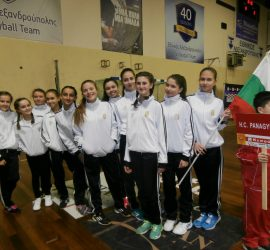 Първа международна изява за 14-годишните хандбалистки на Панагюрище
