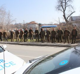 Горските стражари от Панагюрище на мълчалив протест заради побоя над двама свои колеги