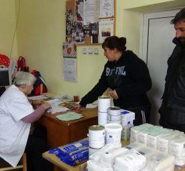 """БЧК – Панагюрище приключи раздаването на хранителни пакети по """"Хранителна програма – 2016"""""""