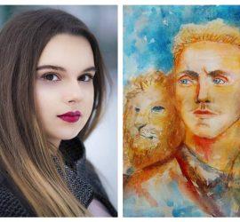 Рисунка на панагюрката Натали Калпакова спечели първо място в  международен конкурс, посветен на Васил Левски