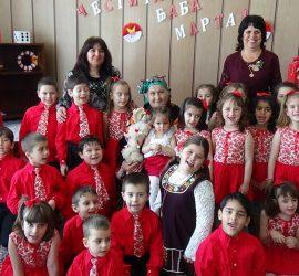 """Баба Марта на гости при децата от ДГ""""Пролет"""""""