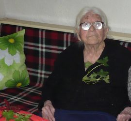 Панагюрката Гана Дундарова навърши 101 години