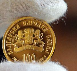 БНБ пуска монета от 100 лв. за Благовещение