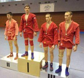 """Самбистът Никола Петкански непобедим за четвърта поредна година на ДЛОШ. Трима състезатели на СК """"Бойни спортове"""" с покани за първенството на Стария континент"""