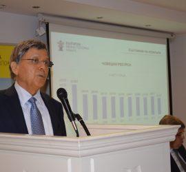 Проф. д-р Лъчезар Цоцорков е първият почетен председател на Българската минно-геоложка камара
