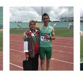 Даниел Немски завоюва бронзов медал в десетобоя на Националния шампионат по лека атлетика за юноши и девойки младша възраст