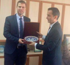 Областният управител се срещна с генералния консул на Турция
