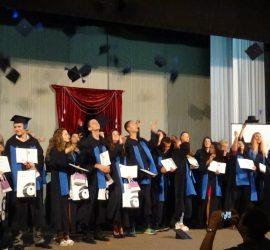 48 ученици от ПГИТМТ получиха дипломите си за средно образование и свидетелства за професионална квалификация