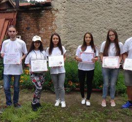 Доброволци на БМЧК-Панагюрище станаха пълноправни лектори по превенция на насилието, първа долекарска помощ и социално- помощна дейност