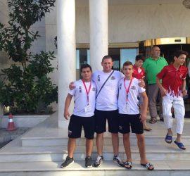"""Джудо клуб """"Топалов"""" спечели трето място на Балканиадата по джудо в Гърция"""