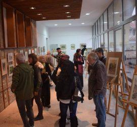 Изложба живопис на Иван Кадънков беше открита в Исторически музей – Панагюрище