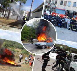 Панагюрските огнеборци ще проведат демонстративно учение