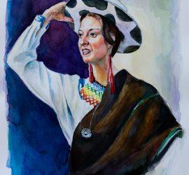 """С """"Момичето от Куенка (Еквадор)"""" д-р Николай Радулов ще участва в Годишната изложба на пловдивските художници"""