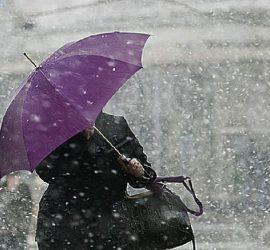 Идва студен атмосферен фронт, в четвъртък ще завали дъжд, който привечер ще премине в сняг