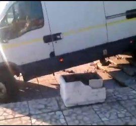 Ще бъде потърсена отговорност на фирмата, нанесла материални щети при демонтиране на коледната украса в Попинци, заяви кметът на селото Стоянка Ставрева